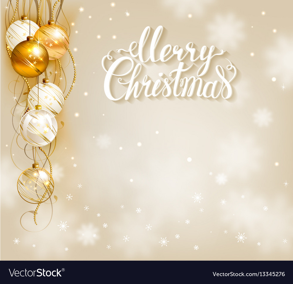 Christmas Background Images Gold.Elegant Christmas Background With Gold And White