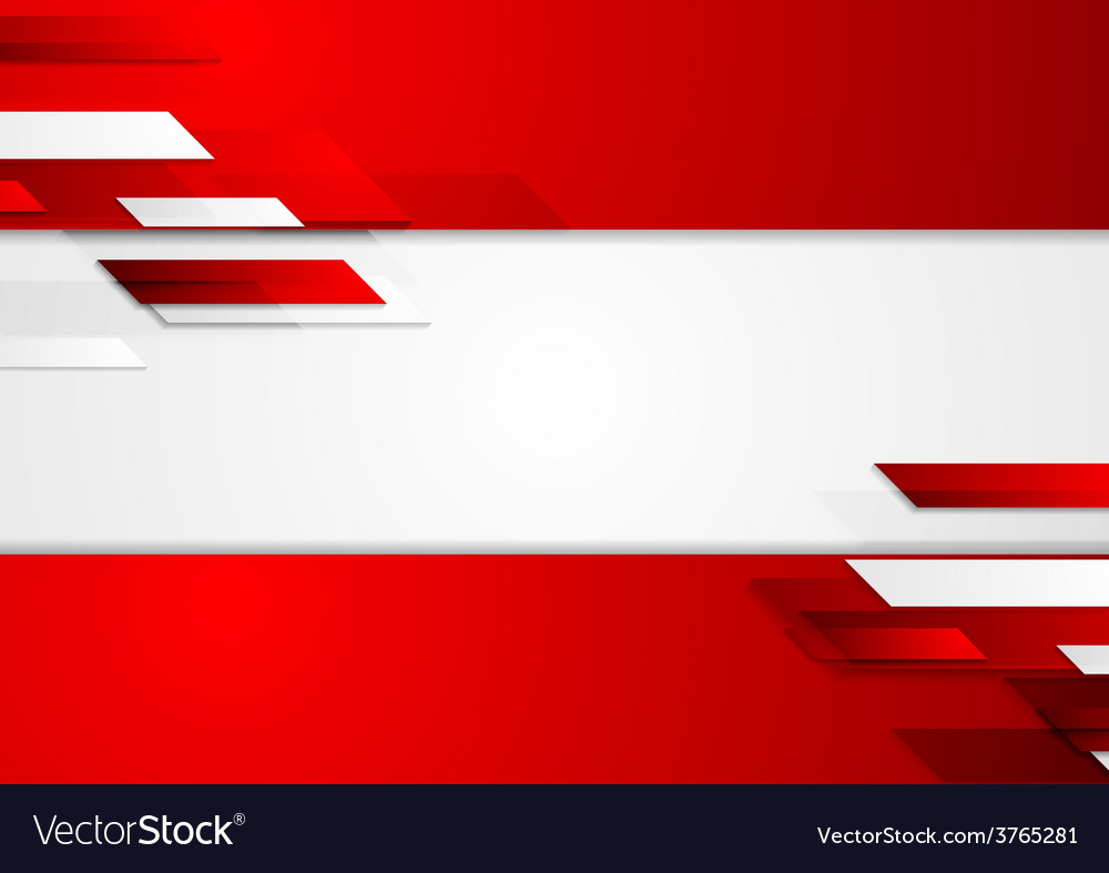 Abstract corporate geometric tech background