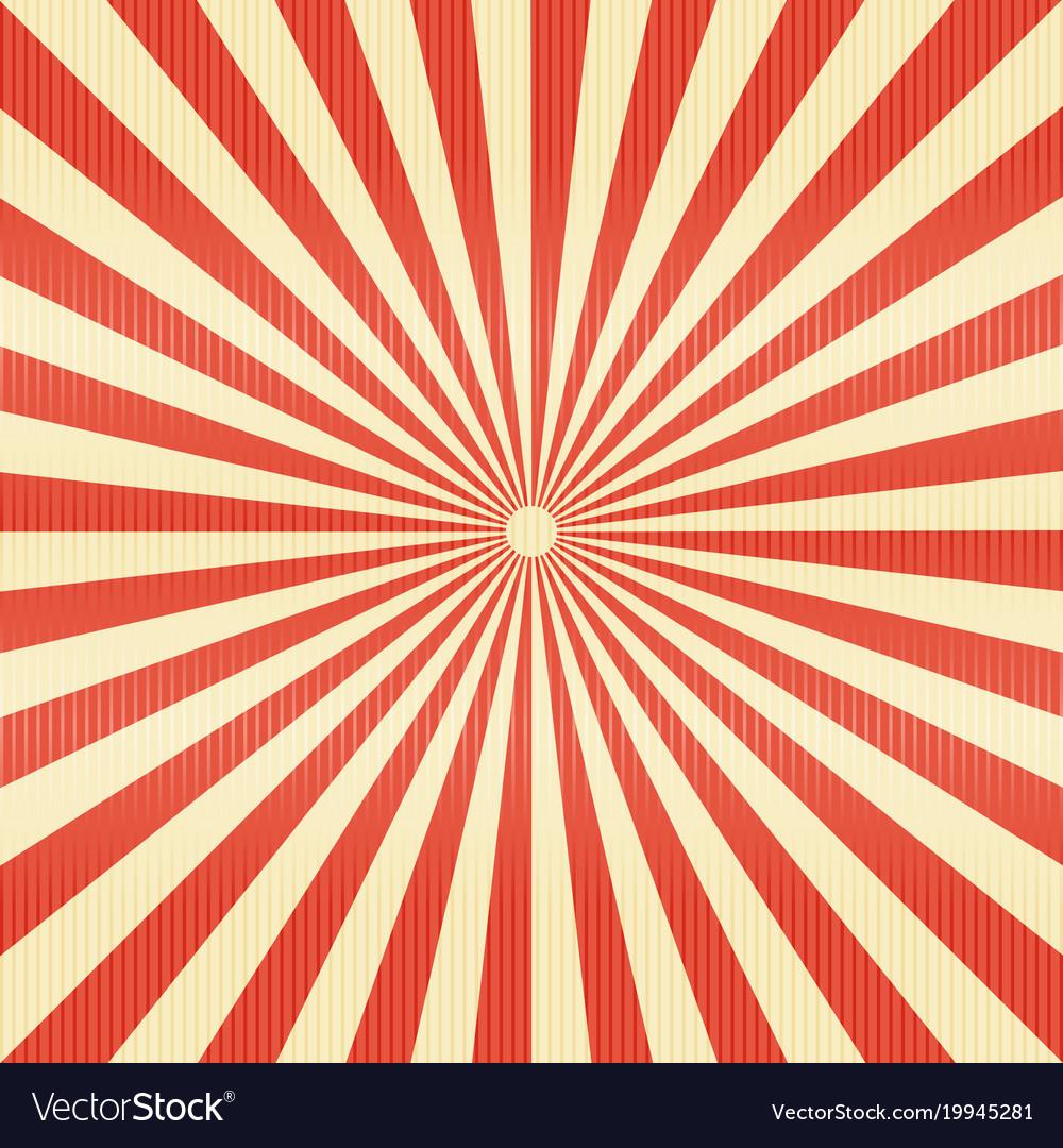 Striped lines pattern paper retro radius burst