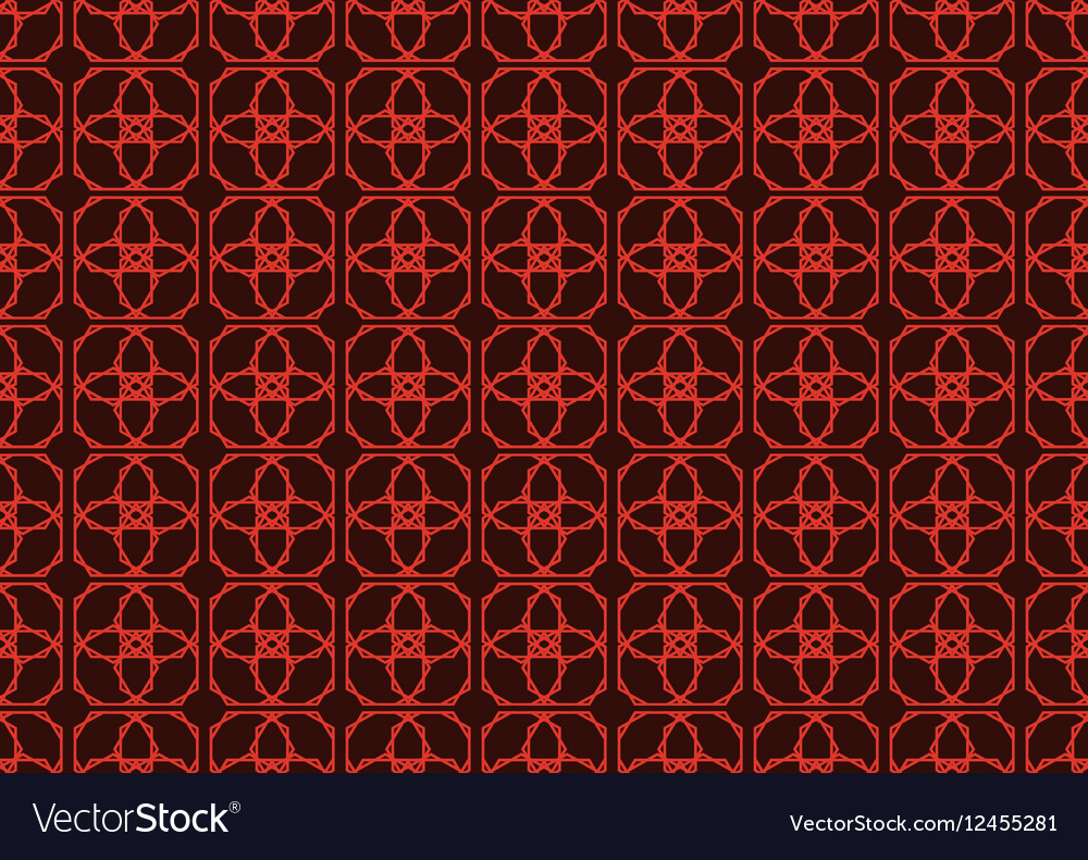 Vintage Abstract geometric classic pattern
