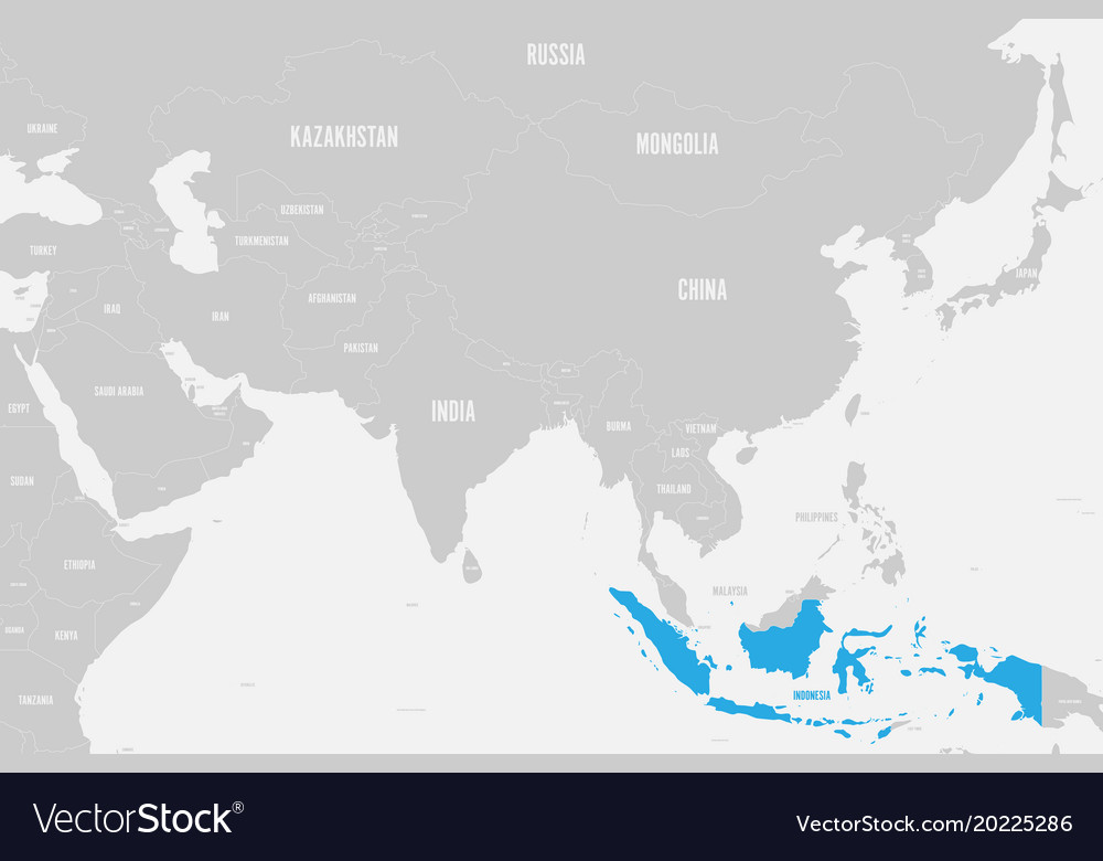 Indonesia blue marked in political map of southern on russia on world map, chile on world map, a turkey on world map, pakistan on world map, taiwan on world map, belarus on world map, jakarta world map, bering sea on world map, republic of congo on world map, east indies on world map, strait of malacca map, thailand map, madagascar on world map, fiji on world map, burma on world map, new zealand on a world map, england on a world map, the sudan on world map, israel on world map, philippines on world map,