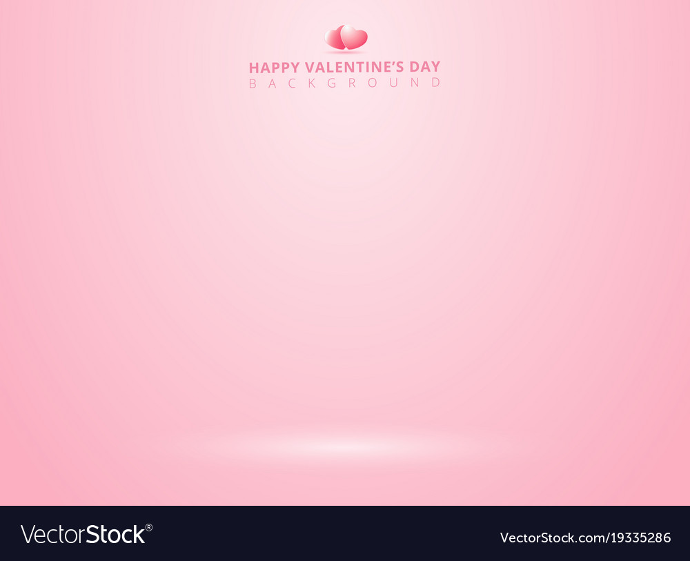 Pink studio background with lighting for vector image