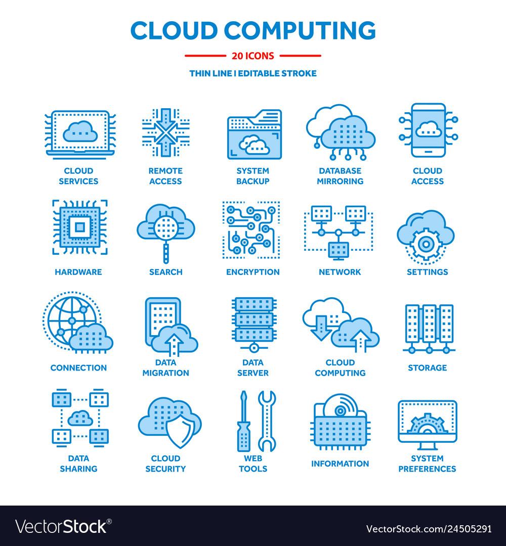Cloud computing internet technology online
