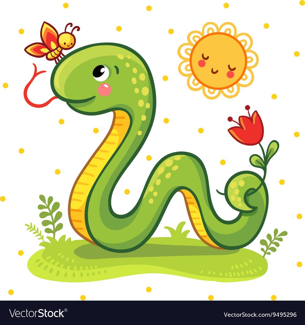 Cute Snake in