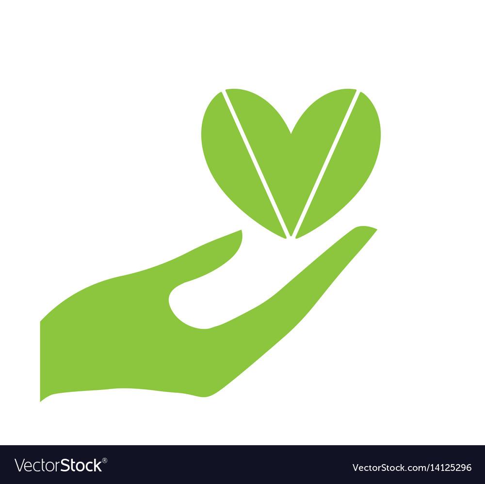 Hand and heart eco