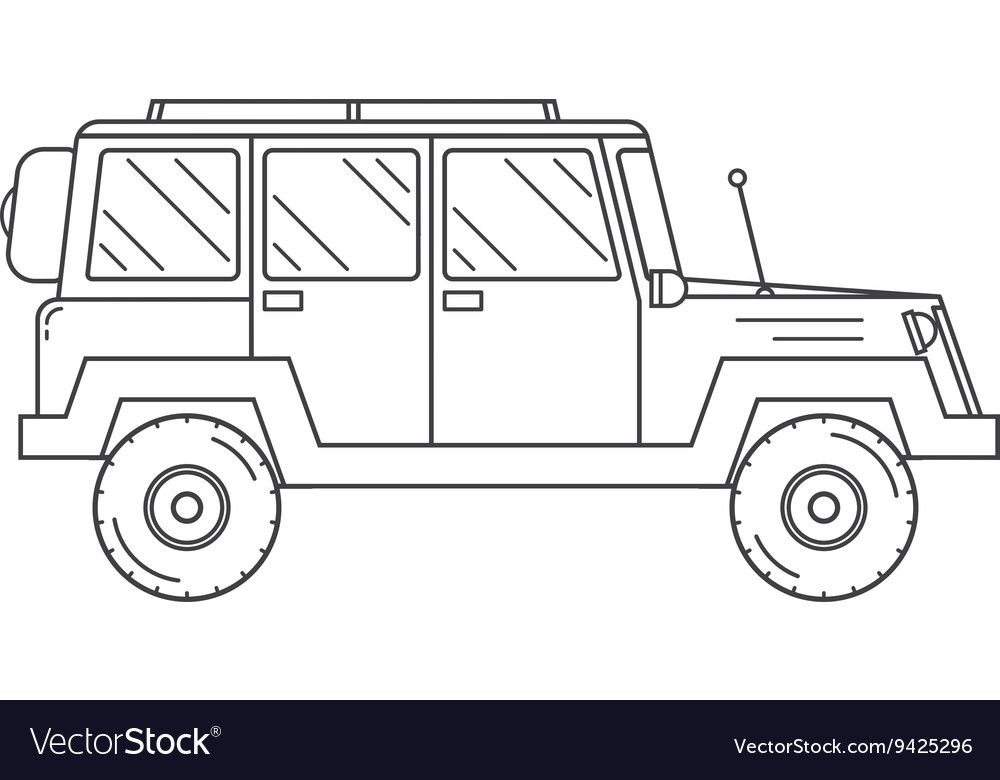 Jeep Outline Picture