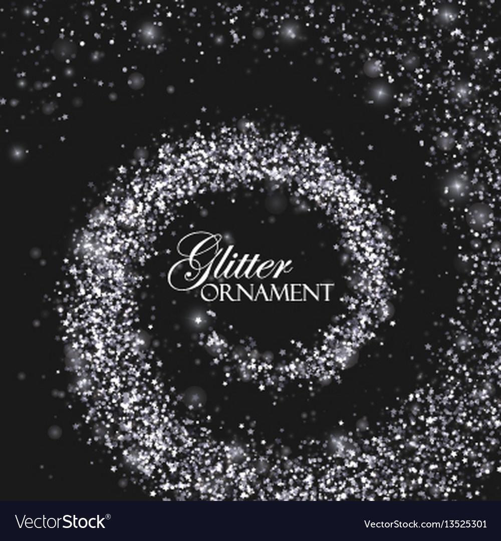 Decoration confetti element for design