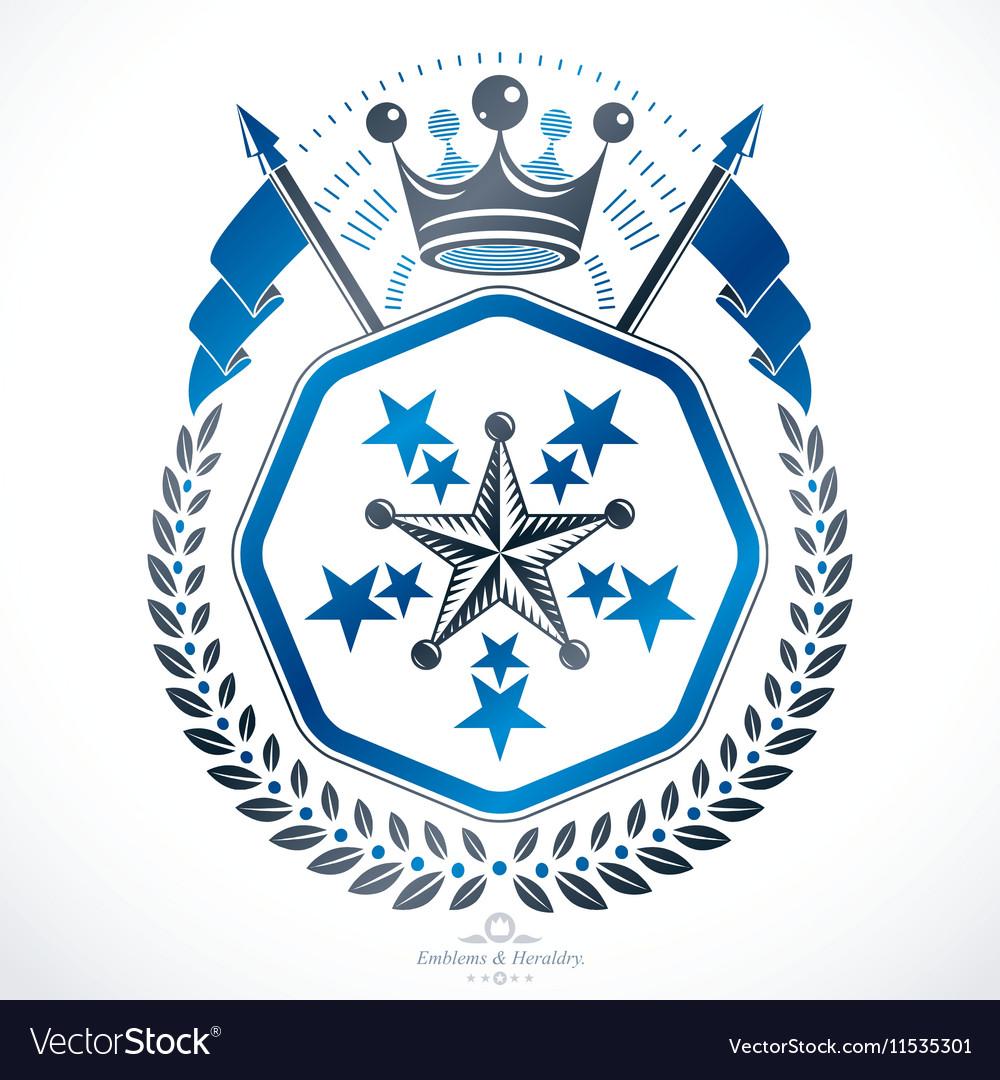 Heraldic sign element heraldry emblem insignia