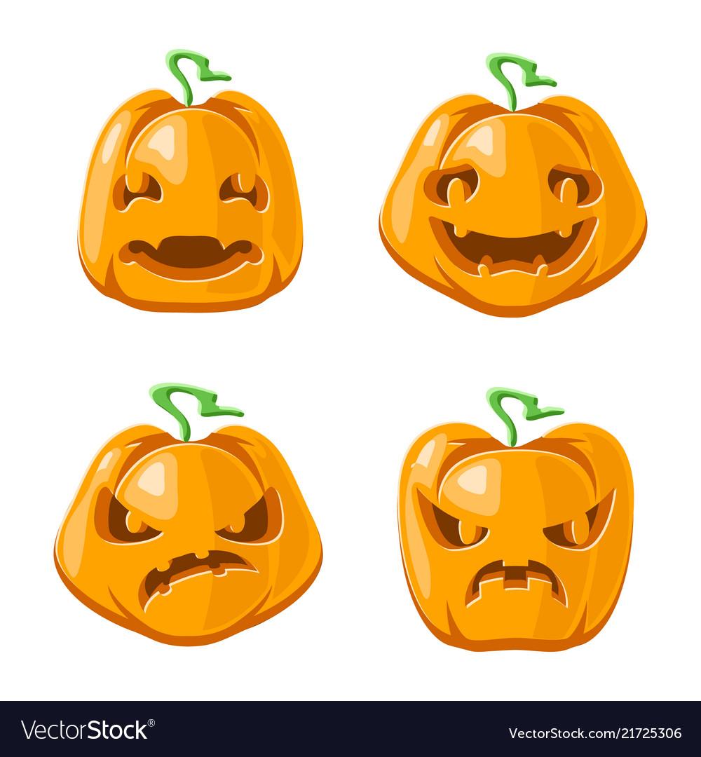 Halloween jack o lantern pumpkin decoration scary