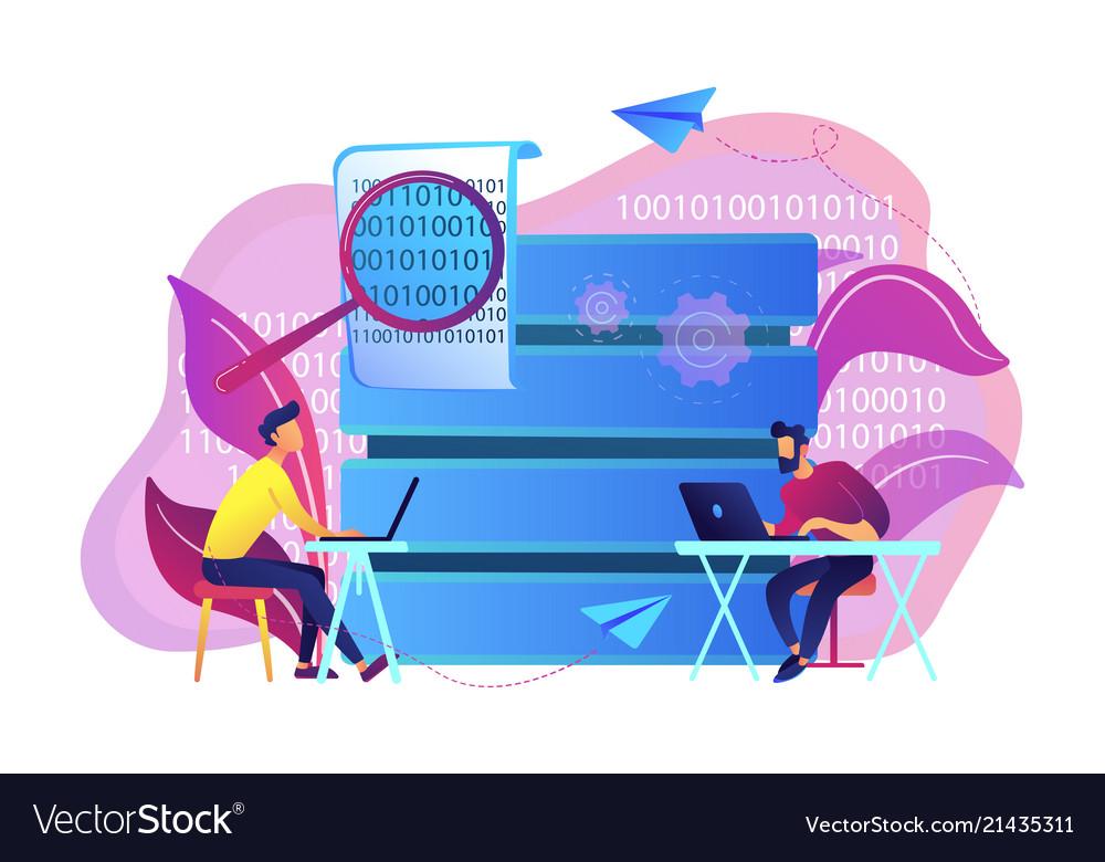Big data programming concept