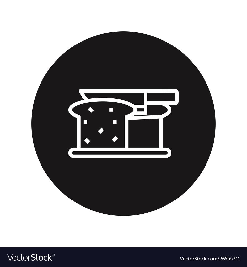 Cut bread icon