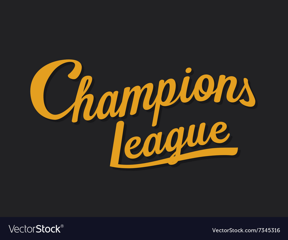 Championship league football typography Tee
