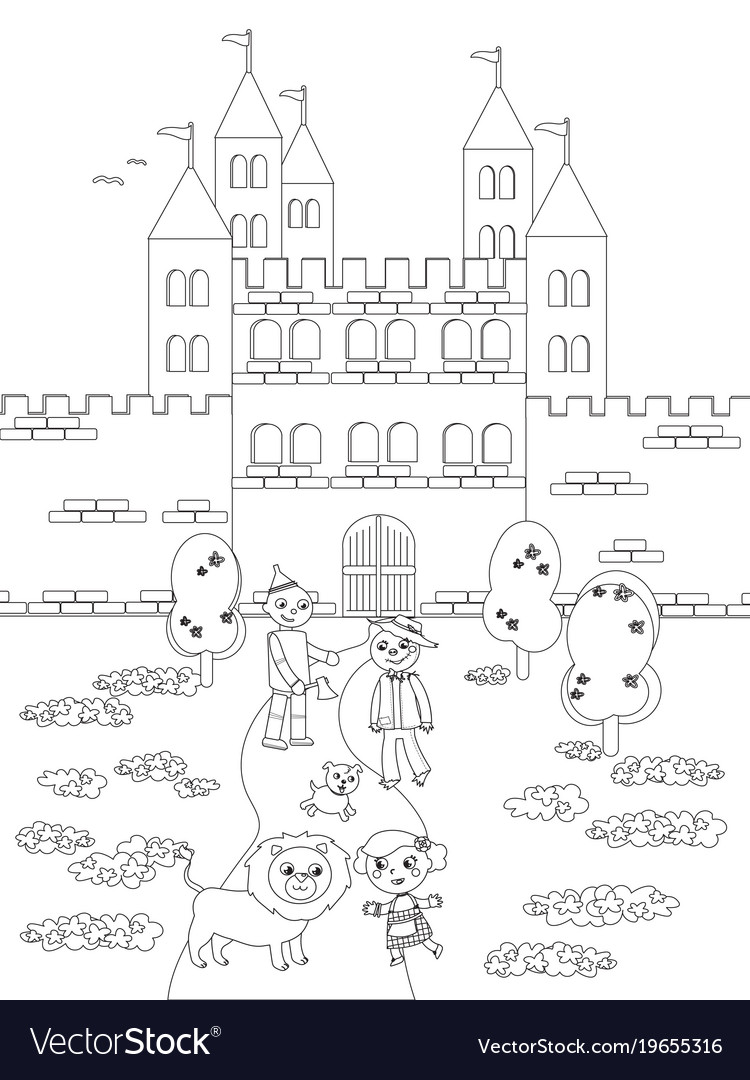 Green City Drawing png download - 600*600 - Free Transparent Wizard Of Oz  png Download. - CleanPNG / KissPNG
