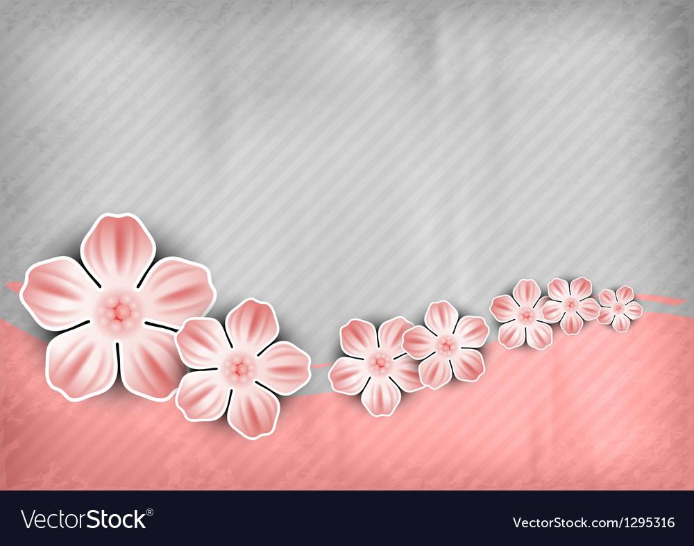 Spring background pink