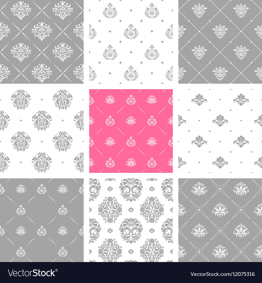 Victorian delicate wallpapers wedding backgrounds vector image