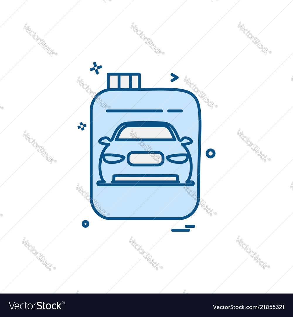 Car workshop icon design