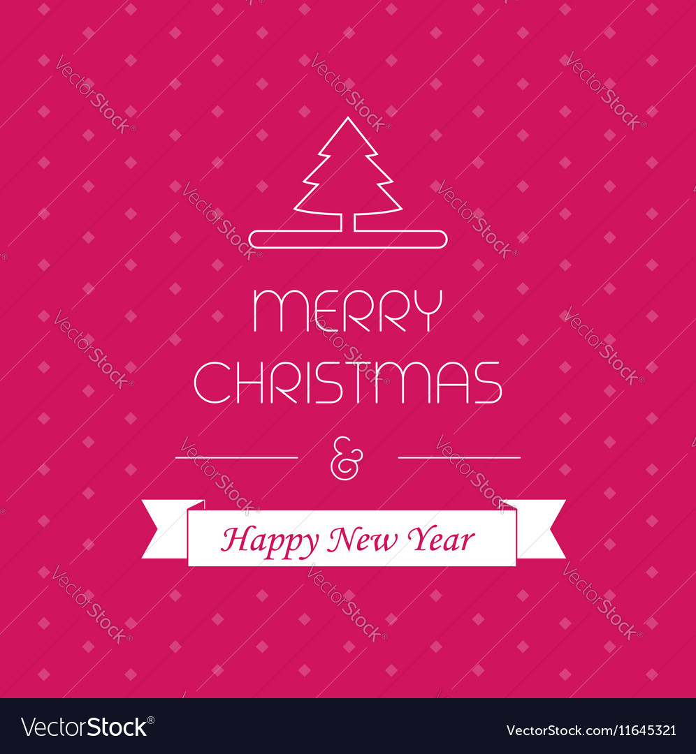 Merry christmass card greeting decor xmas