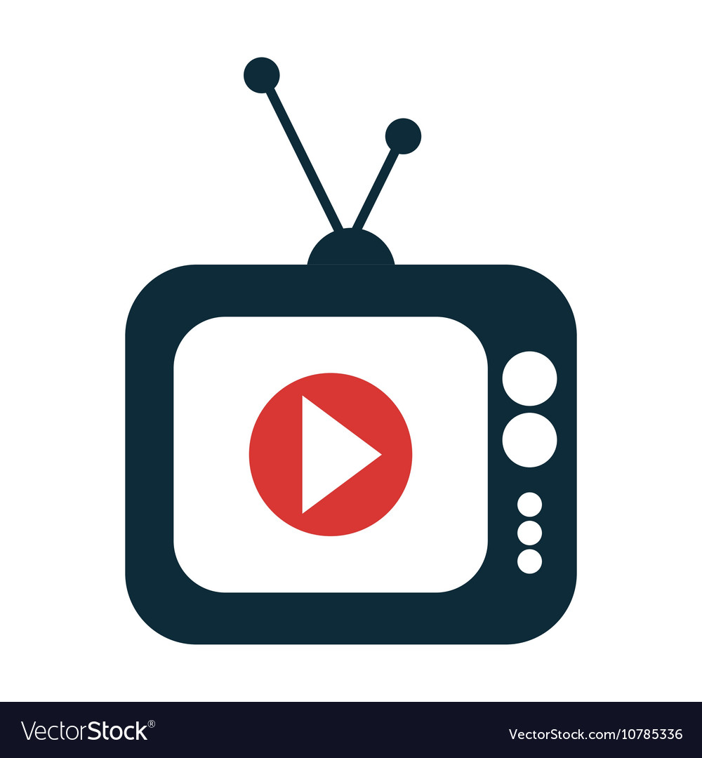 screen with live streaming video icon royalty free vector rh vectorstock com video icon vector ai video play icon vector