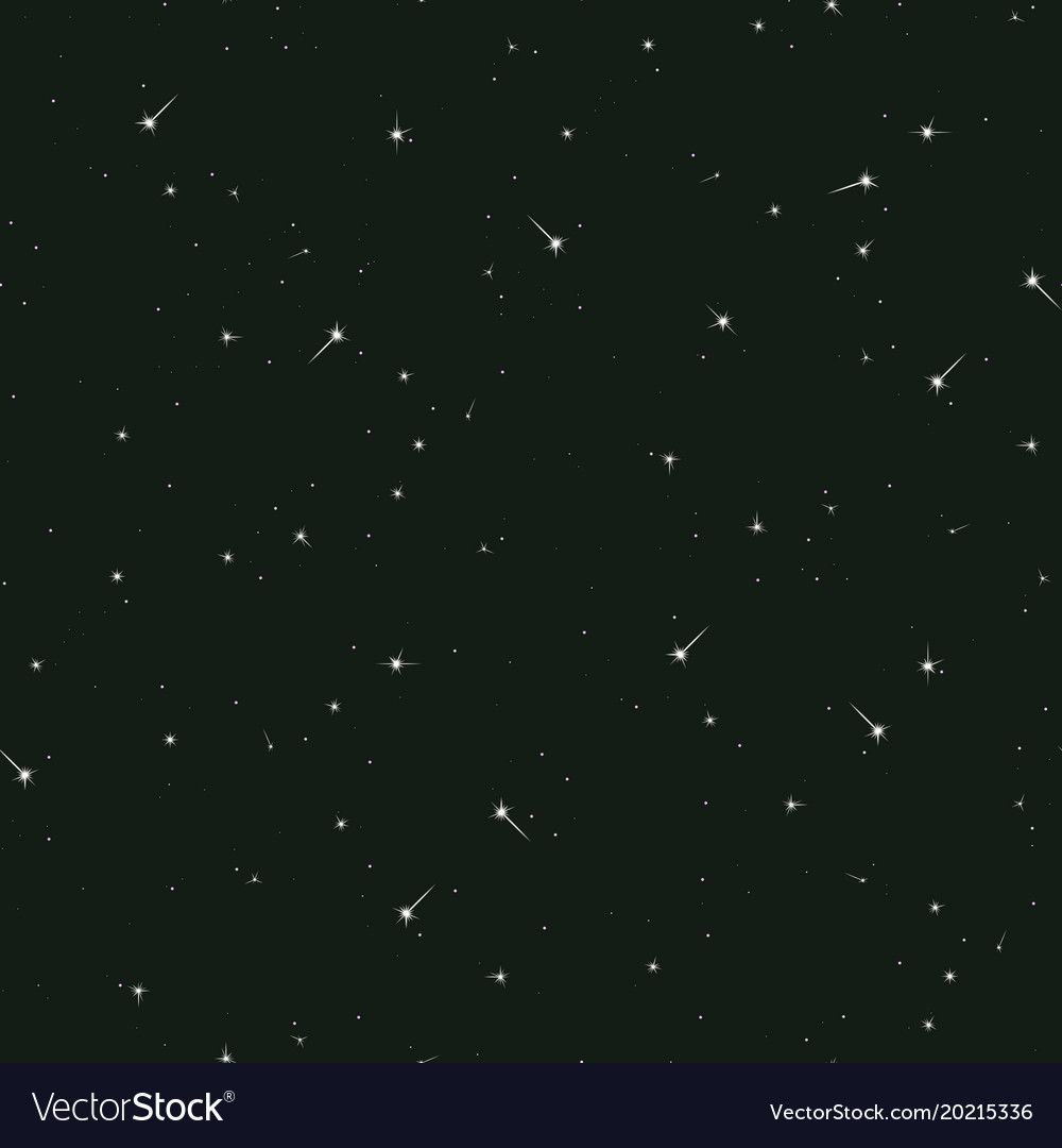 seamless pattern night sky royalty free vector image rh vectorstock com night sky vector art starry night sky vector