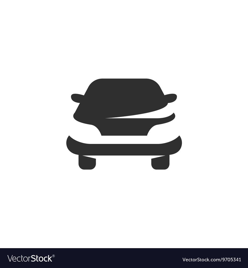 Car icon isolated on white background