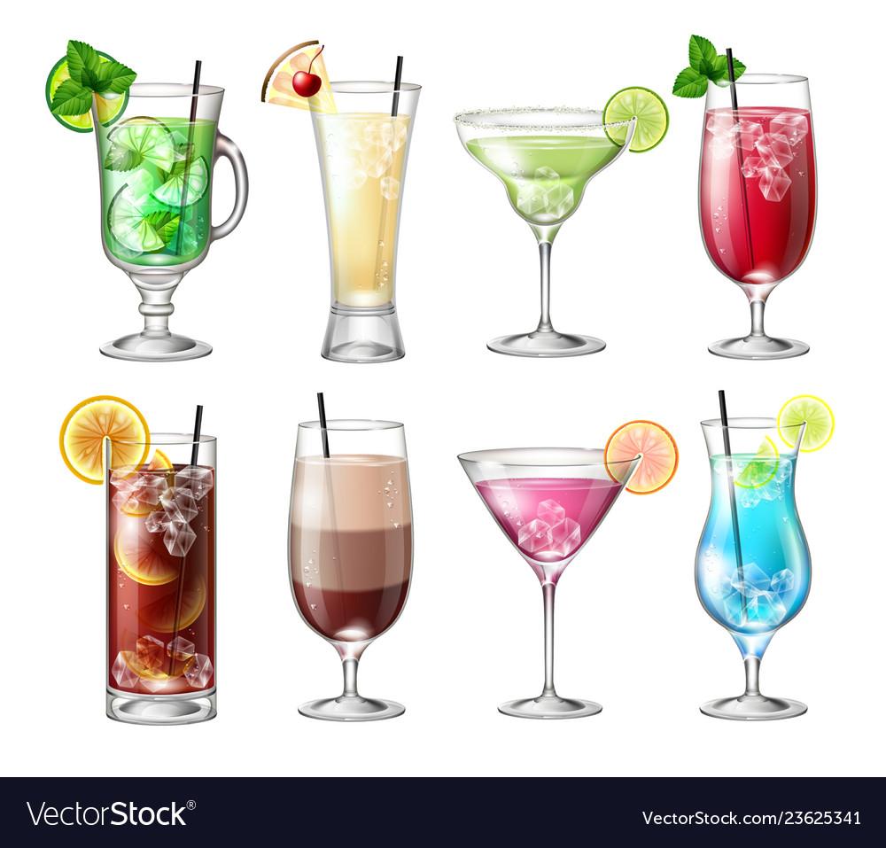 Set realistic cocktails
