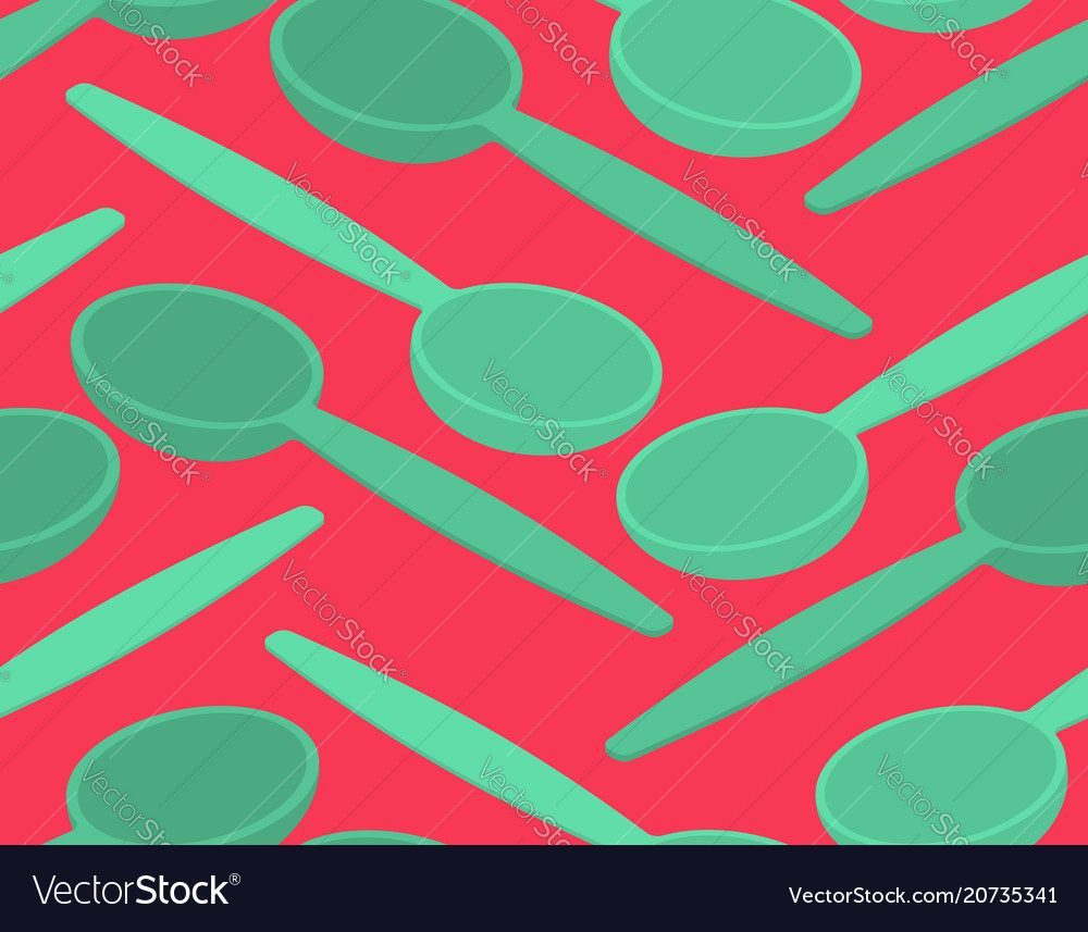 Spoon seamless pattern cutlery texture background