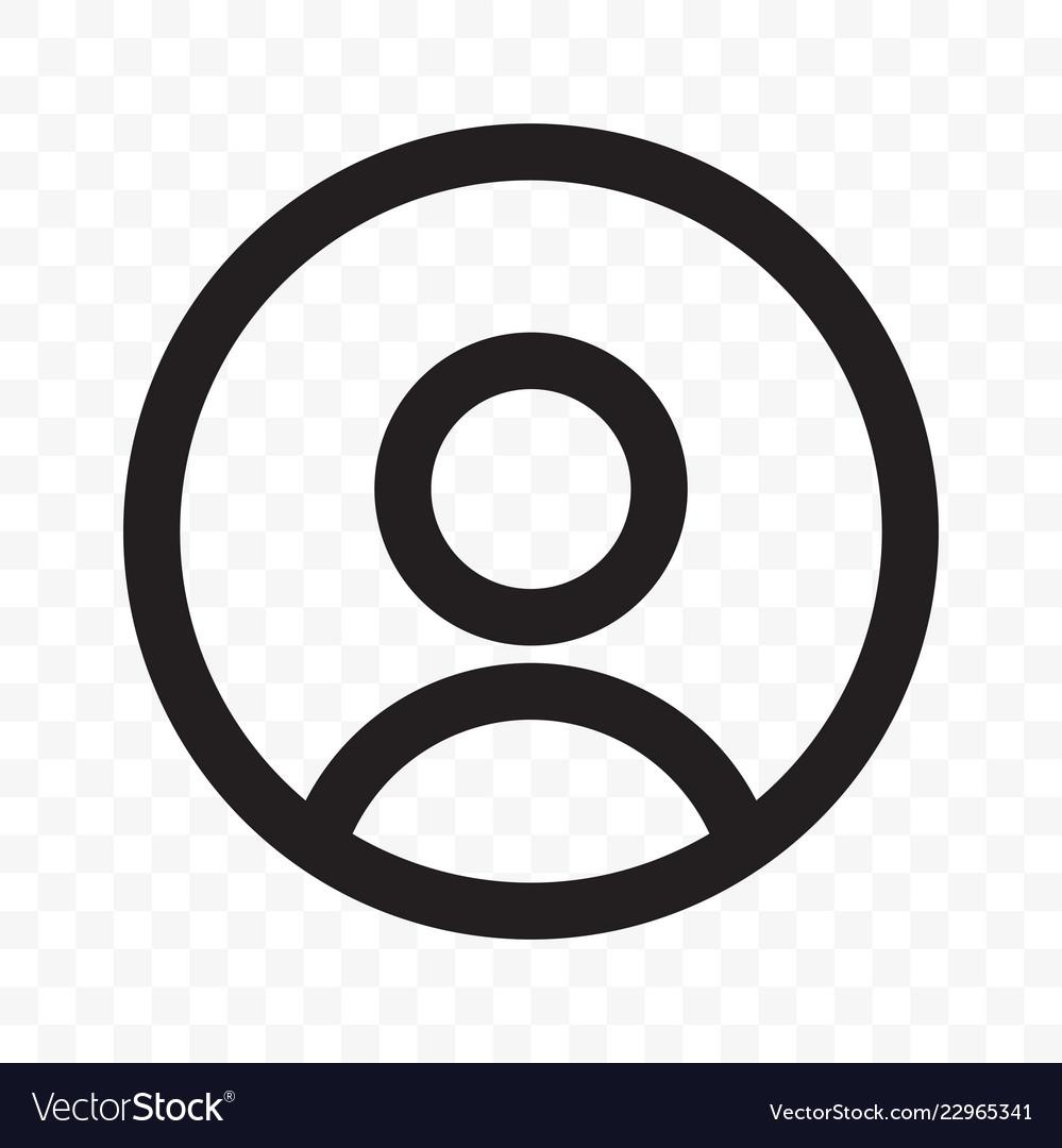 User member social net avatar profile icon