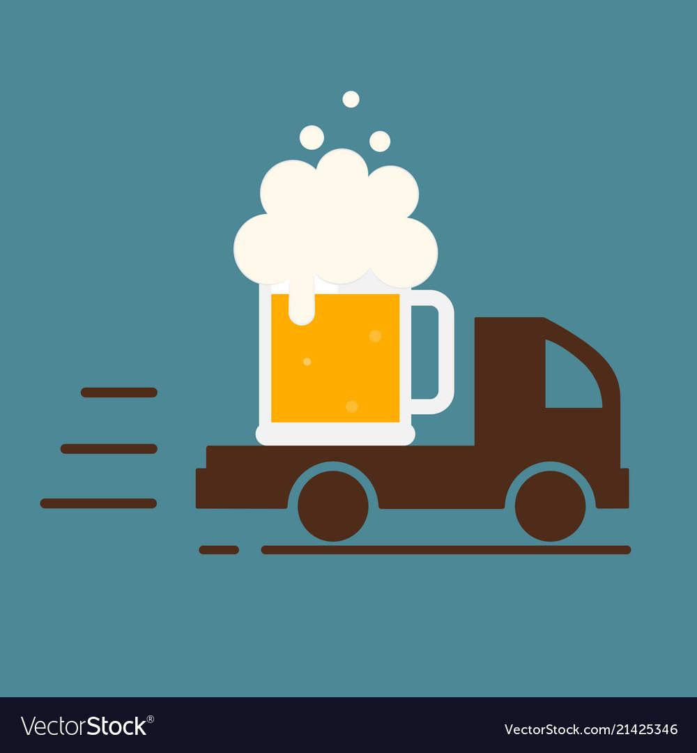 Картинка на доставку пива