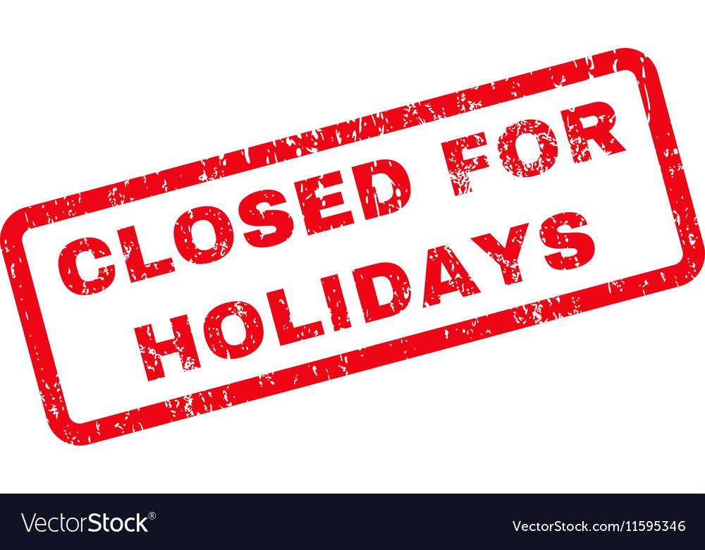 Resultat d'imatges de closed for holidays