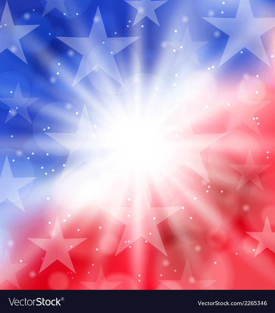 Happy 4th july card with place for text