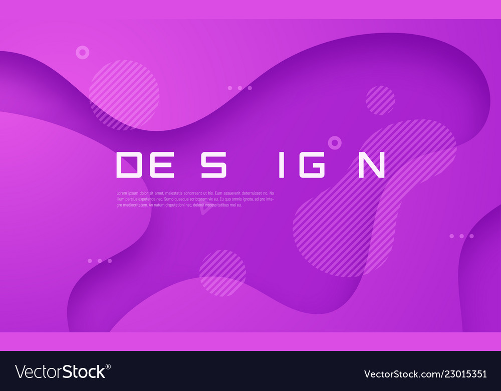 Abstract gradient geometric design colorful wavy