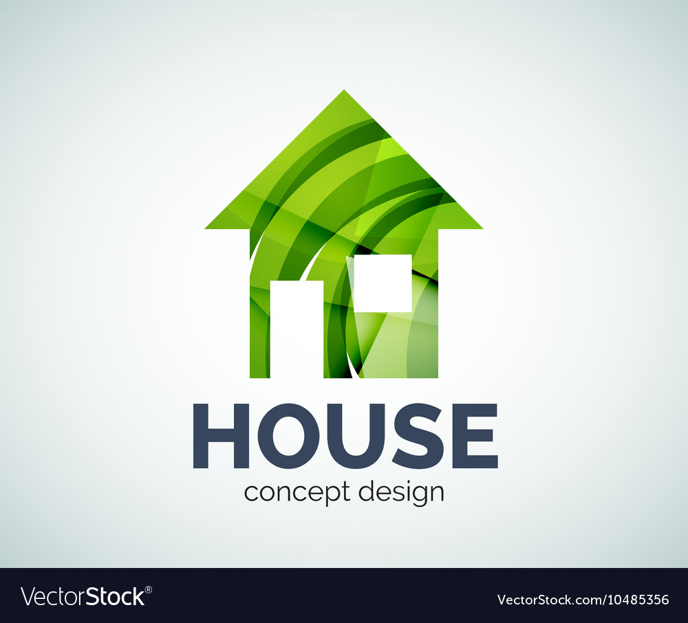 Home real estate logo template