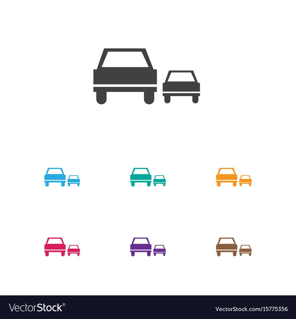 Of transport symbol on