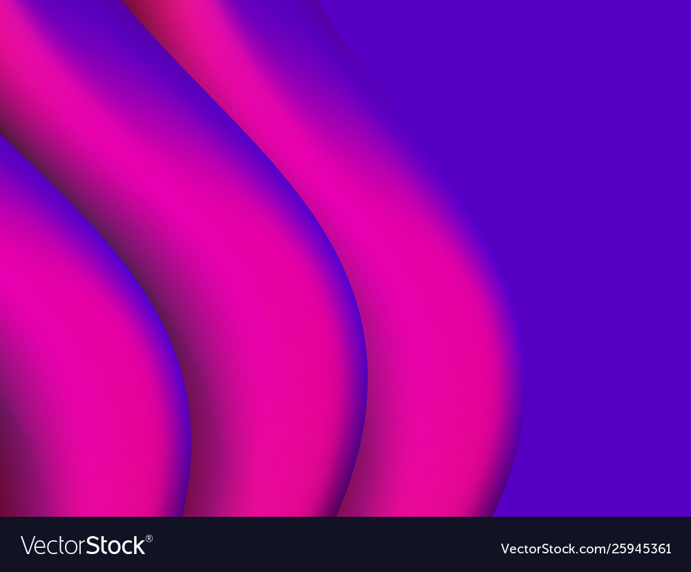 Abstract background with violet gradient waves