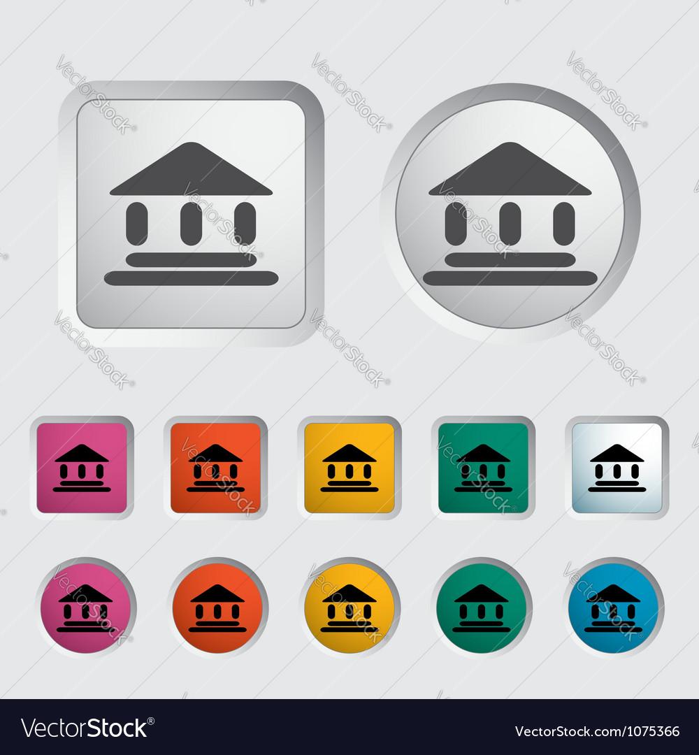 Home icon 2 vector image