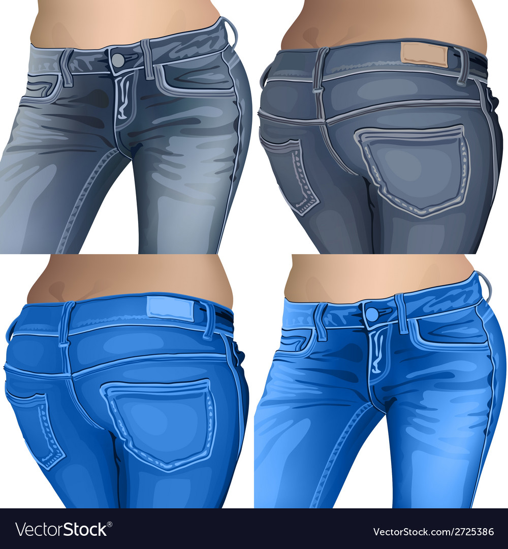 Jeans female jeans girl female fashion young denim