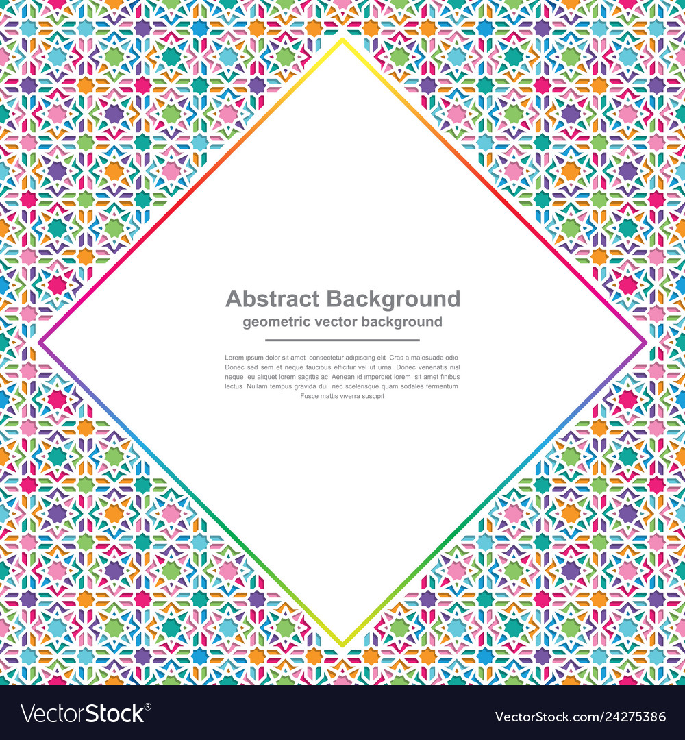 Modern colorful geometry backgrounds