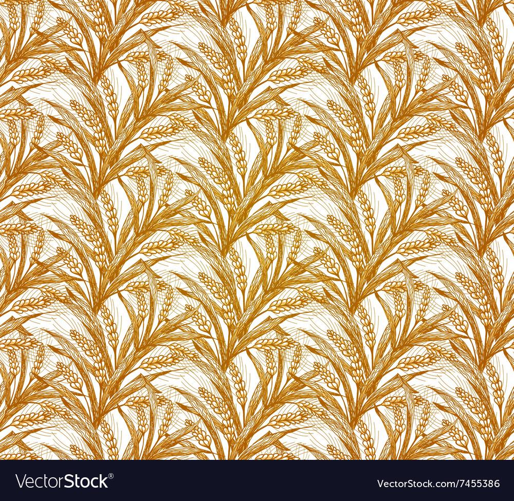 Rye Seamless Pattern EPS10
