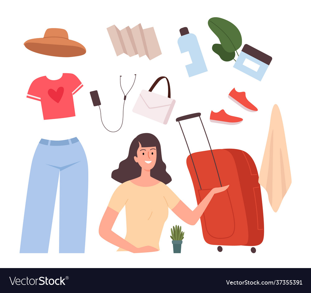 Girl base travel stuff female baggage bag