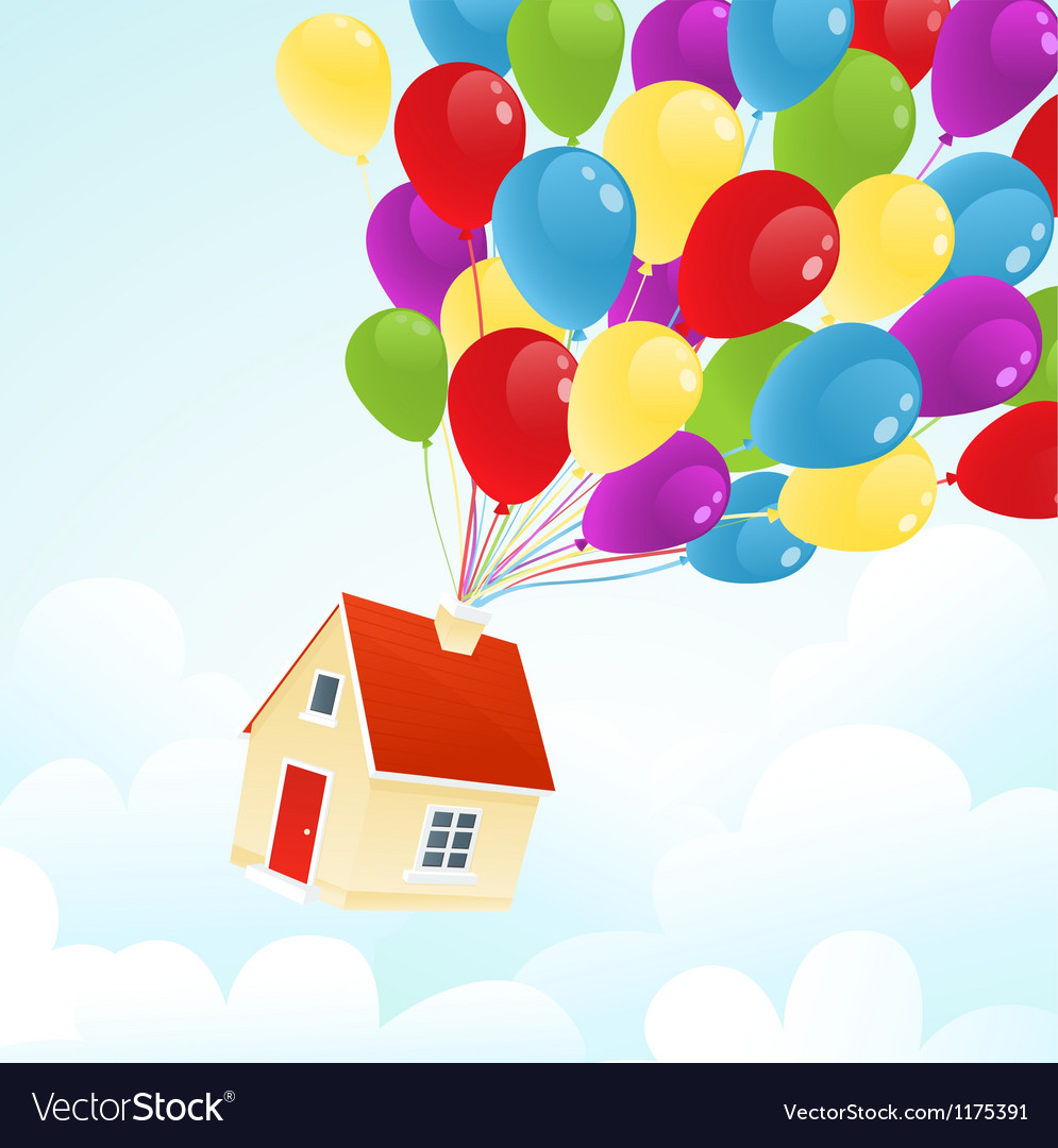 Party house vector image