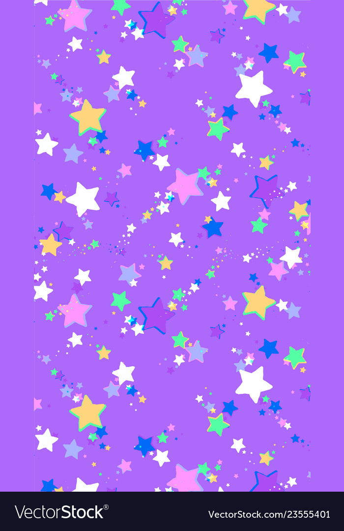 Abstract background of colored stars suitable for