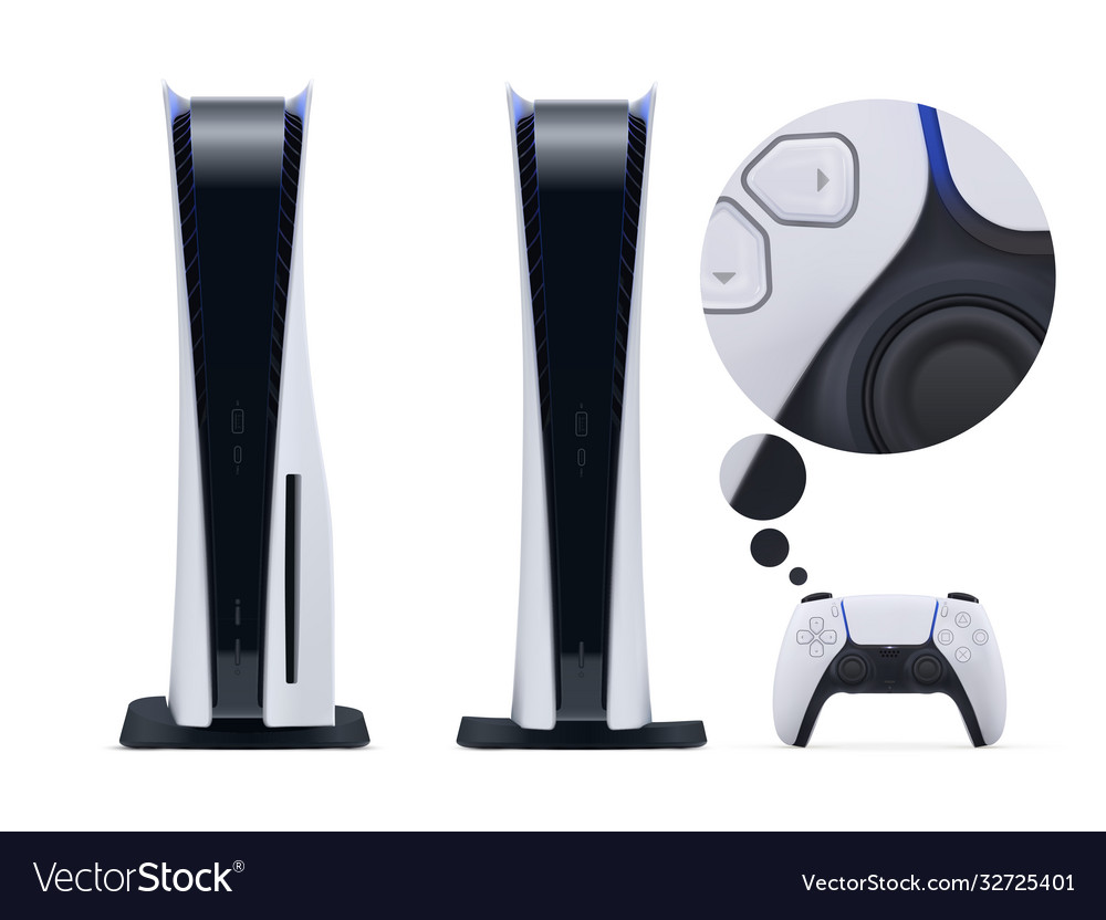 Two realistic nextgen consoles with new gamepad