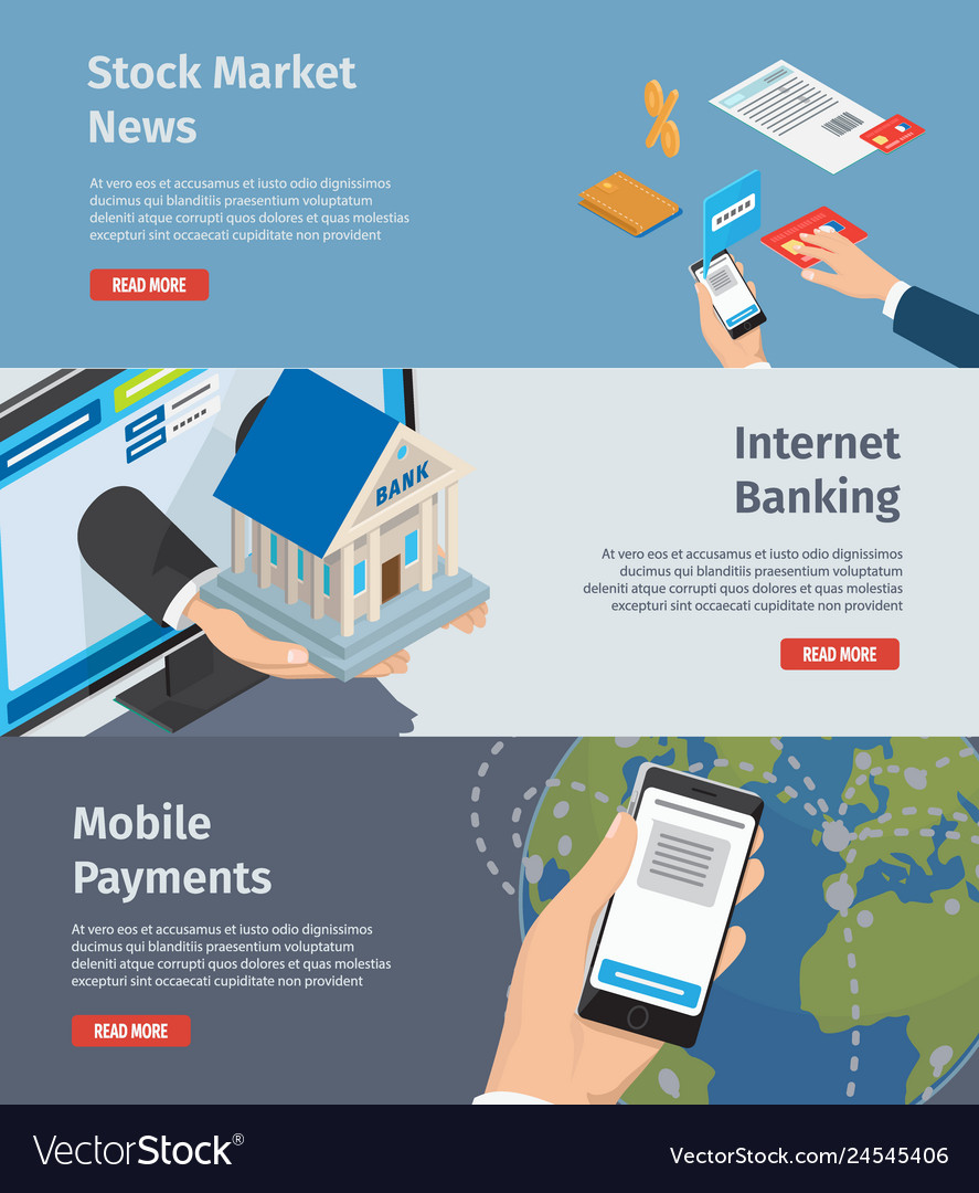 Smart internet banking promotion page