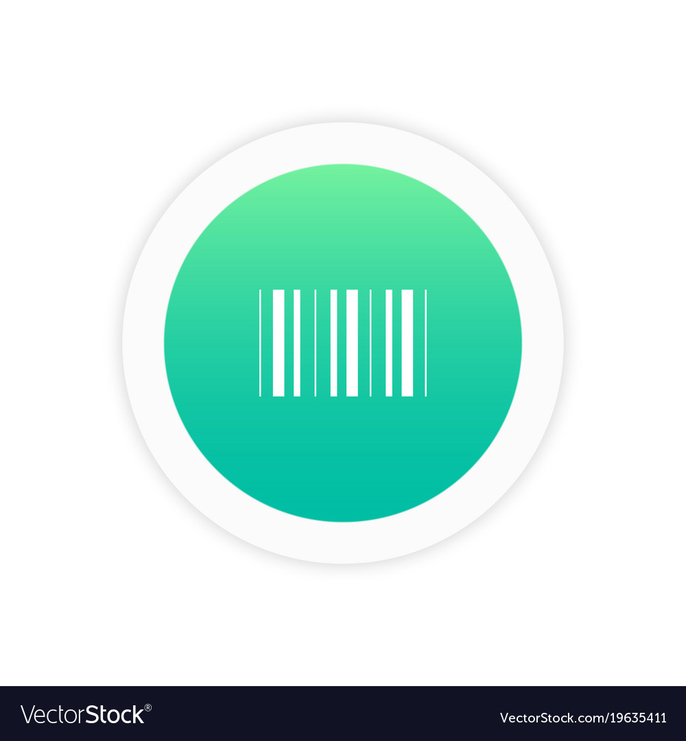 Barcode icon sign