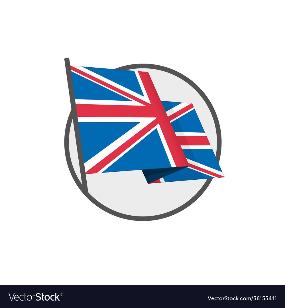 British flag eps