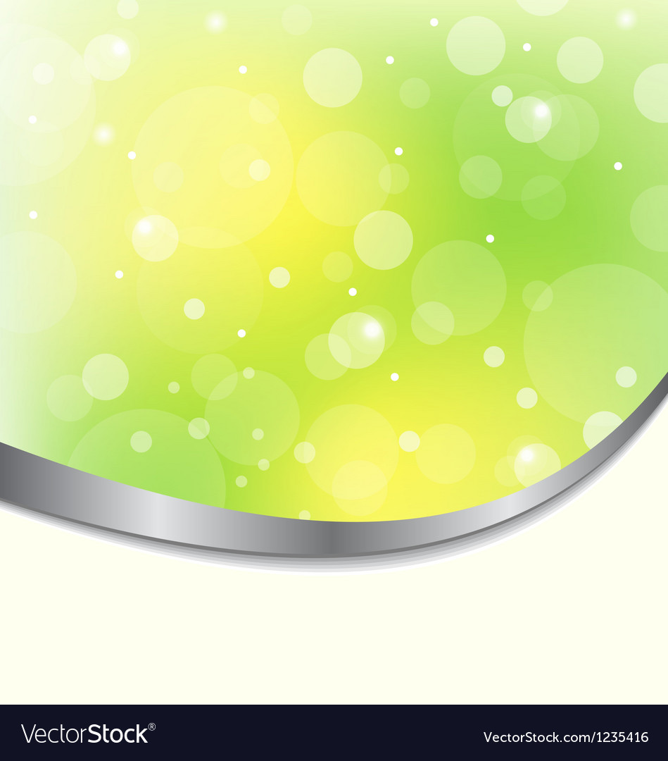 Abstract Eco Background Light Green Royalty Free Vector