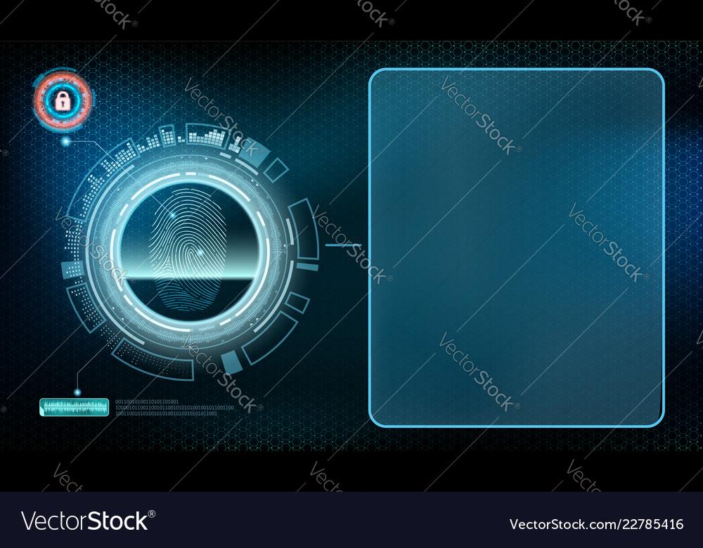 Futuristic device with transparent screen