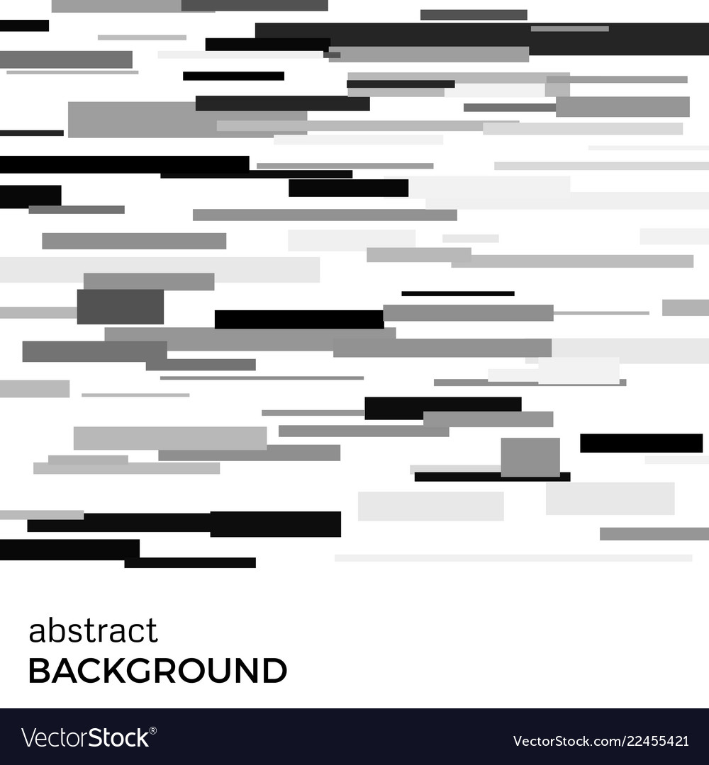 Abstract background of black rectangles