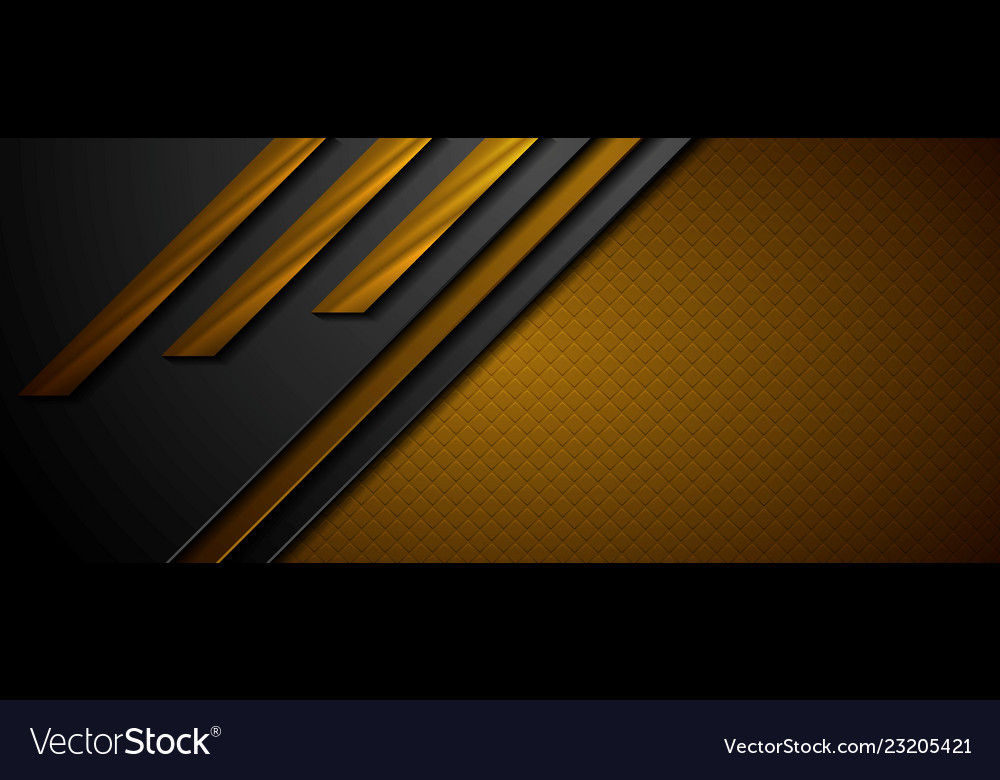 Black and brown abstract tech geometric background