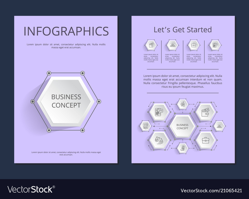 Let s get started infographics